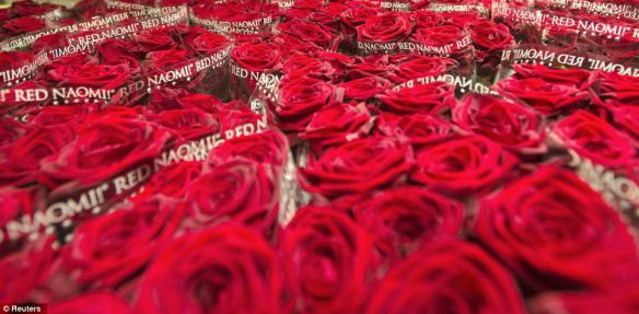 Trandafiri rosii depozit